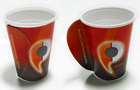 papirne čaše ili kartonski nosač?