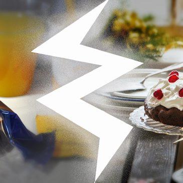 Marketing,  sendviči u celofanu, i dezert sa šlagom